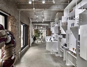 Livil Architects--【甲舞】北京影笆 Filmba 手办店