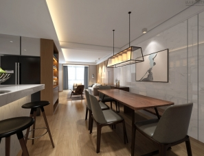 港式风格的公寓