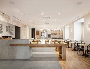 Pirogi slava balbek--花岗岩+天然木 基辅面包&咖啡店