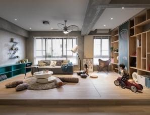 一套优雅到极致的居室设计--HAO Design