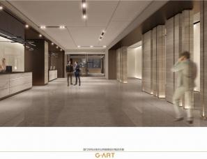 集艾设计--厦门万科三安办公样板房设计方案