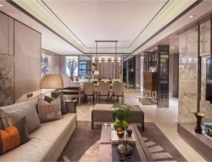 首发|上海集艾设计--现代东方传世气质.海珀玉晖6套样板房