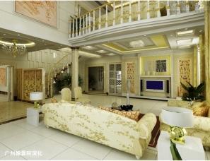 广州翰霖院深化——别墅效果图