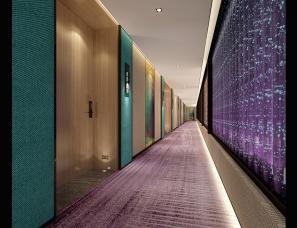咸阳星级酒店设计公司|品韵轻居酒店