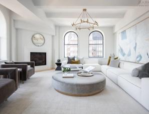 Interior Marketing Group--The Shephard 纽约·顶层公寓