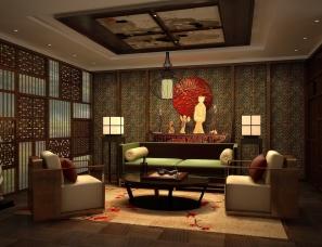 【高见视觉设计】镏金岁月文化茶楼,禅意的生活方式