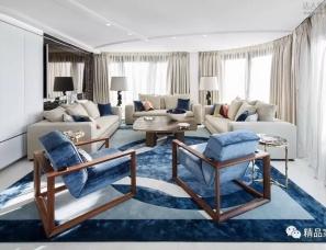 斯蒂芬妮·库塔设计--不露痕迹的奢华 法国南部330㎡顶层公寓