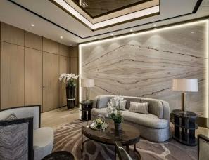 凌子达设计--上海旭辉铂悦西郊别墅样板房