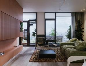 多彩新型北欧风公寓,充满创意与艺术感的独特设计