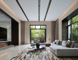壹舍新作--1500m²上海西郊明苑别墅与自然同居展顶级大宅气度