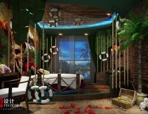 格林童话般的感受 北京非设计-格林豪泰情侣主题酒店设计