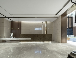 尚石设计--中南蚌埠江山府售楼处