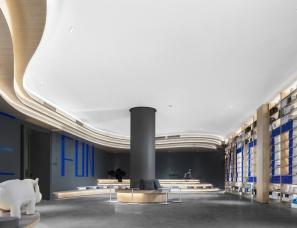 广州杜文彪设计--万科云创天地城市展厅