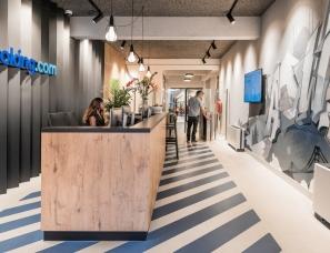Hofman Dujardin--阿姆斯特丹Booking涂鸦艺术办公楼