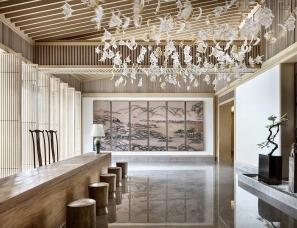 重庆默存室内设计--长滩壹号餐茶会所