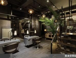 舨舍设计--臨峇厘島式的叢林髮廊