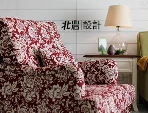 南京北岩设计---清浅时光 美式休闲