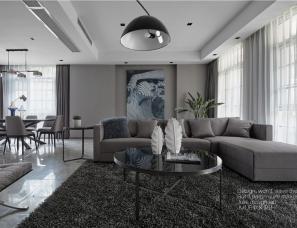 【杭州JULIE软装设计】--西溪明珠排屋全案设计|现代风