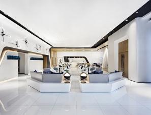 则灵艺术--华讯方舟深圳天谷办公设计