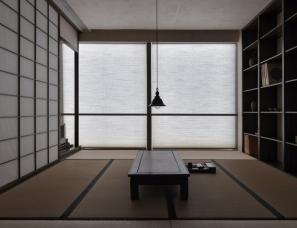 """东形西见设计--闲坐听松风""""心平气和""""福州办公空间"""