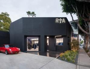 Dan Brunn Architecture设计--RtA 洛杉矶旗舰店