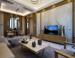 上海高迪建筑工程设计--济南绿城雪野湖桃花源样板房