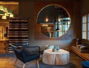 瑞士顶级度假酒店,精致又狂野的前卫设计