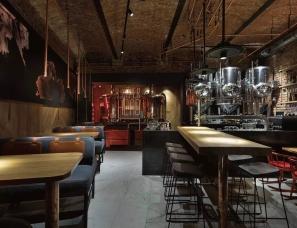 乌克兰YOD设计--工业风酒吧