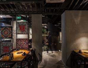 重庆上砚空间设计--苗厨人家餐厅
