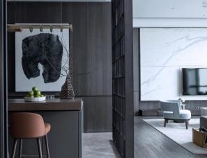 DIA丹健国际设计 --深圳前海双子湾售楼处650㎡/样板房3套