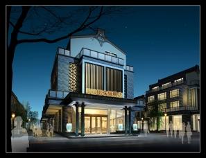 洲道设计(香港)---翡翠明珠旗舰店(现代中式)