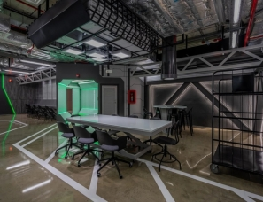 Collective Studio--曼谷一间科幻主题办公室