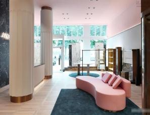 Rodolphe Parente & Benjamin Liatoud APROPOS位于德国汉堡的概念店