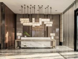 景地组室内设计--绿涛甘棠府售楼部