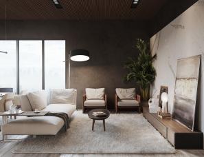 Maksym Iuriichuk设计--乌克兰公寓