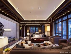HSD琚宾设计--北京燕西华府别墅样板房