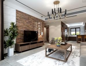 唐山枫尚原筑空间设计--新新东方