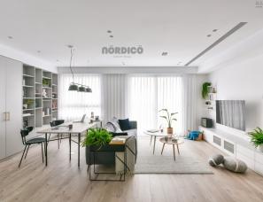 台北北鸥设计--light gray house