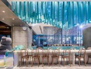 梅蘭设计--一个近乎透明的姚,深圳姚酸菜鱼诚品店
