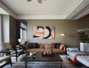 梁志天+LSDCASA设计--上海银亿公园壹号样板房