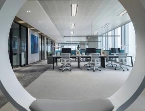 IF.DESIGN 羽果设计--广州琶洲环球梦大厦办公样板