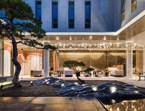 杭州易和室内设计--金地西溪风华售楼处