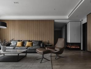绍兴安生设计--高級灰|觸及靈魂的美學享受 迎恩府住宅