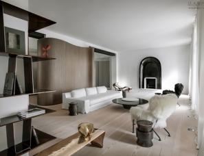 bernard touillon设计--巴黎资产阶级别墅翻新