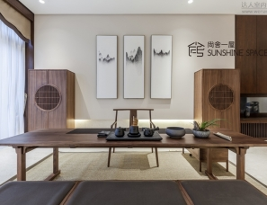 【杭州尚舍一屋】一屋一话之·云水禅心-386㎡新中式风格