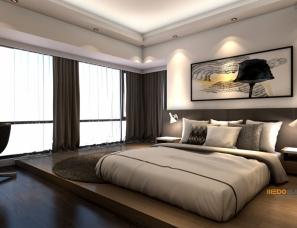 深圳维度设计--上合花园大户型室内设计