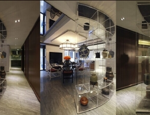 郦波设计--康桥半岛私人住宅/550平方别墅