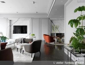 缤纷设计新作--揉合新古典气质与风格旅店的梦幻宅邸