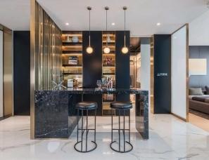 成都花漾锦江,超级豪宅的大平层设计!