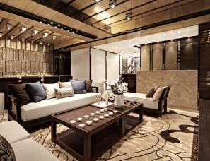 广州柏舍励创设计--实力 · 实力东盟深林三套样板房合集